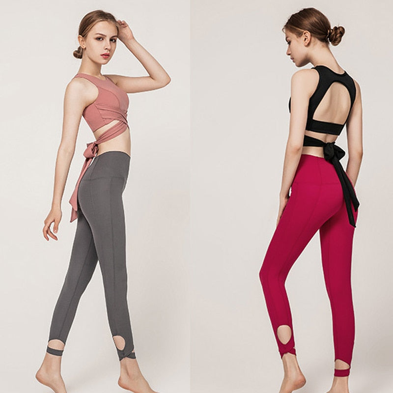 Have your choice of TOP or LEGGINGS (Each sold separately)