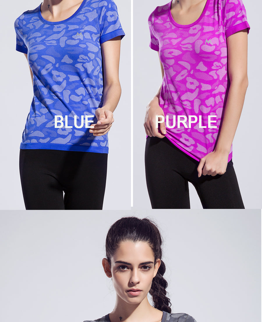 TWEEN Color CAMOUFLAGE Dri -Fit Top - More Colors!