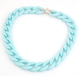 BIG LINK Necklace - More Spring-Summer Colors!