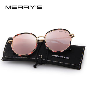 Merry's Metal Temple Polarized Sunglasses