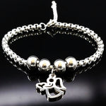 ANGEL Stainless Steel Bracelet- Various Choices!