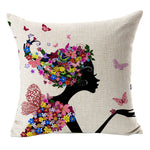 Cotton Linen Blend Cushion COVER- More designs!