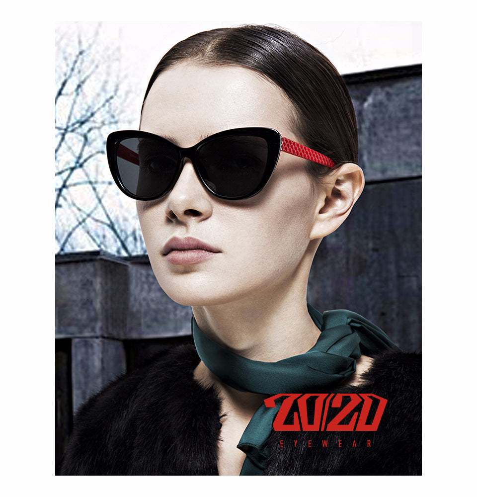 20/20 BRAND RETRO Cat Eye Sunglasses