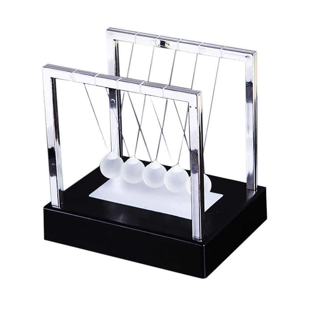 Newtons Cradle LED Light Up Kinetic Energy Home Office Science Toys Home Decor