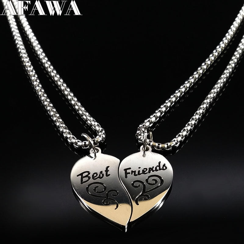BFF Pair Necklace
