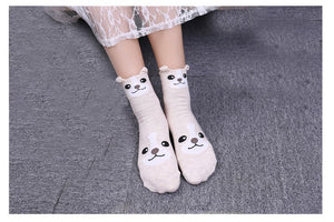 5 Pair Package ANIMAL LOVER'S Socks