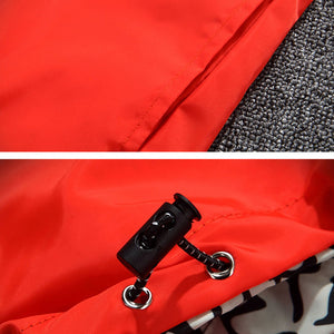 REVERSIBLE Quick Dry Hoodie Windbreaker Jacket