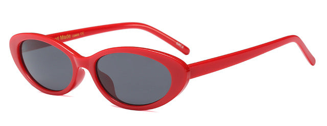 PEEKABOO Oval Sunglasses