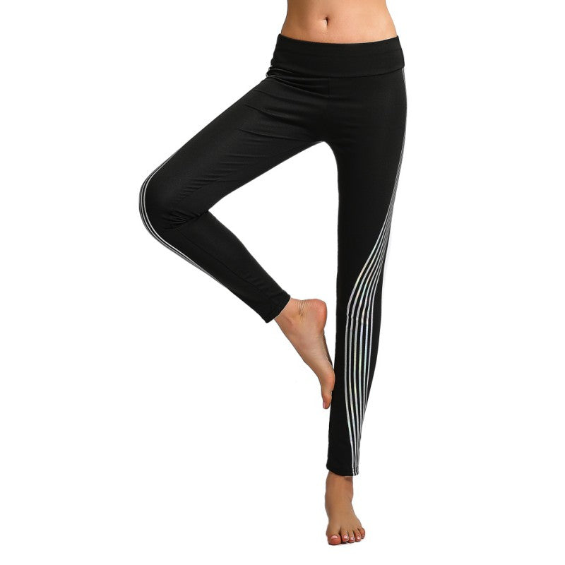 Super Stylish BLACK LEGGINGS for Sports & Travel