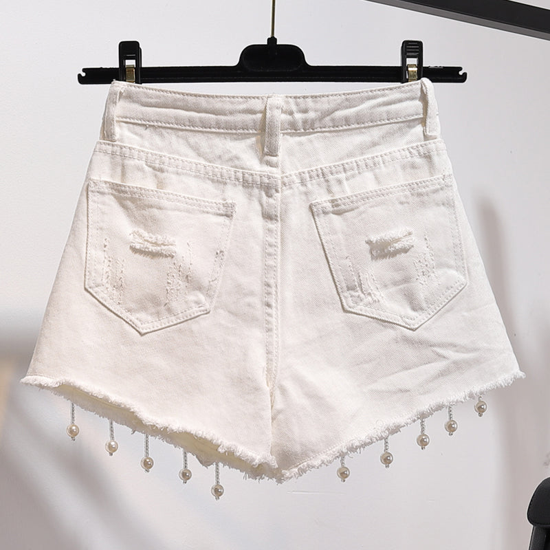 Summer Collection: Tweens & Teens Jean Shorts with Flowers
