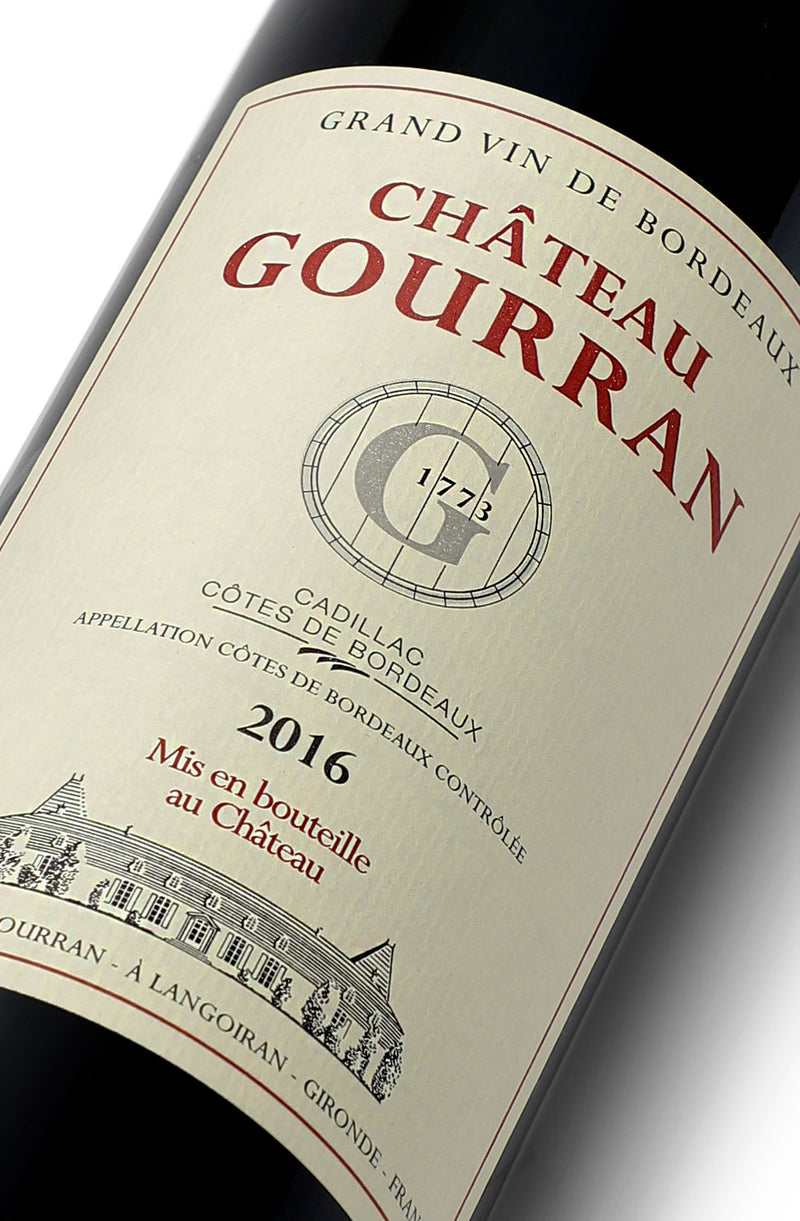 Château Gourran Rouge Tradition 2016 x 6