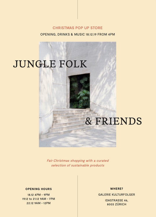 Jungle Folk & Friends XMas PopUp