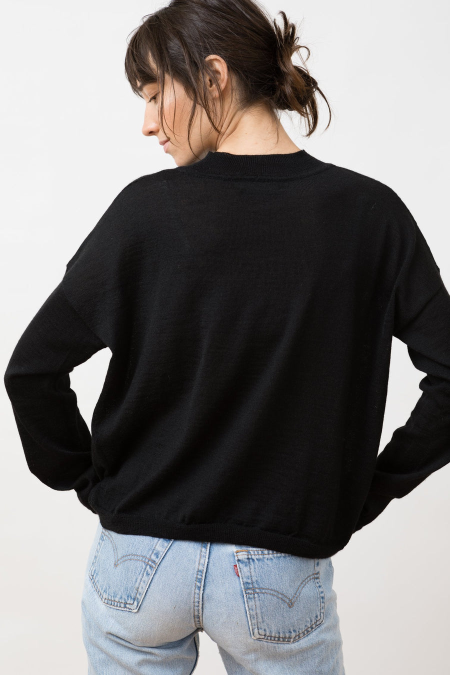 Knit Sweater Arvo Black