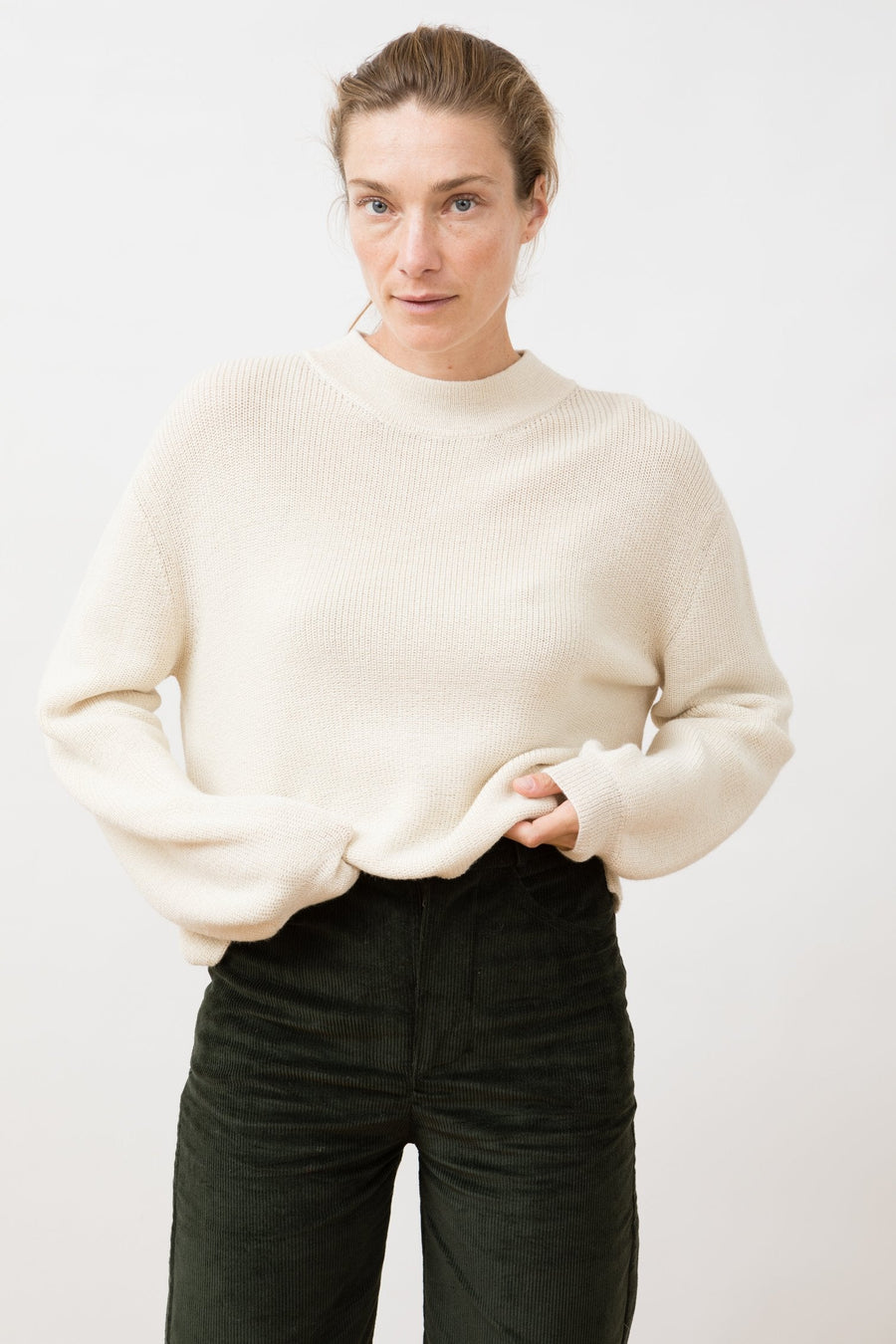 Knit Sweater Helo Ivory