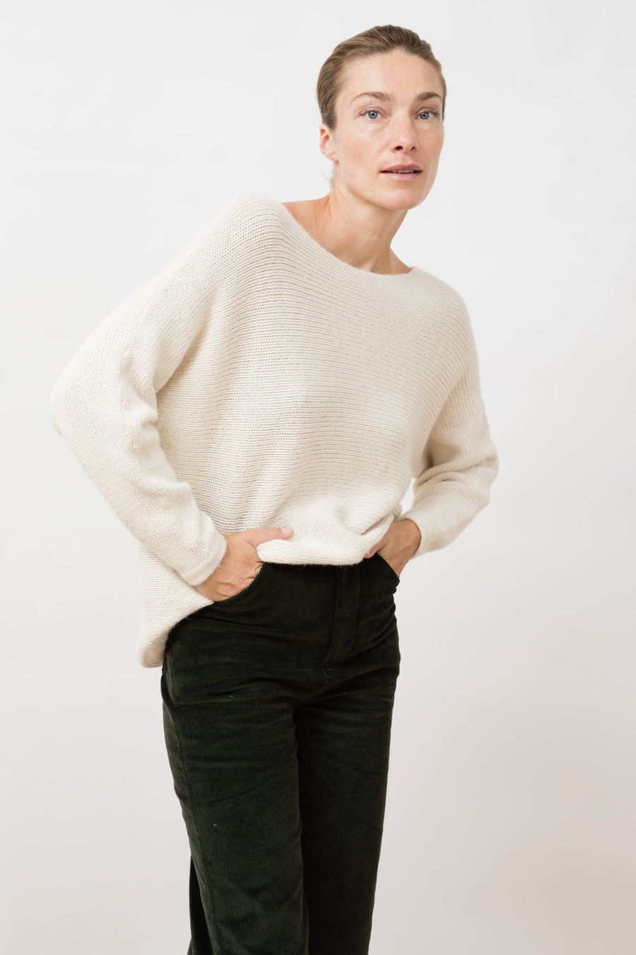 Knit Sweater Nieve Ivory