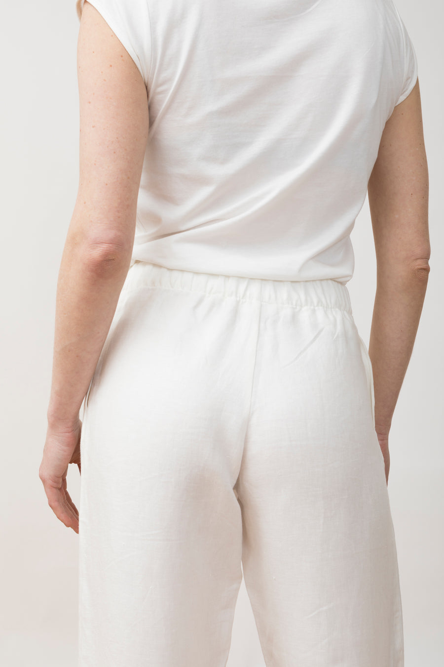 Linen Trousers Viento Ivory