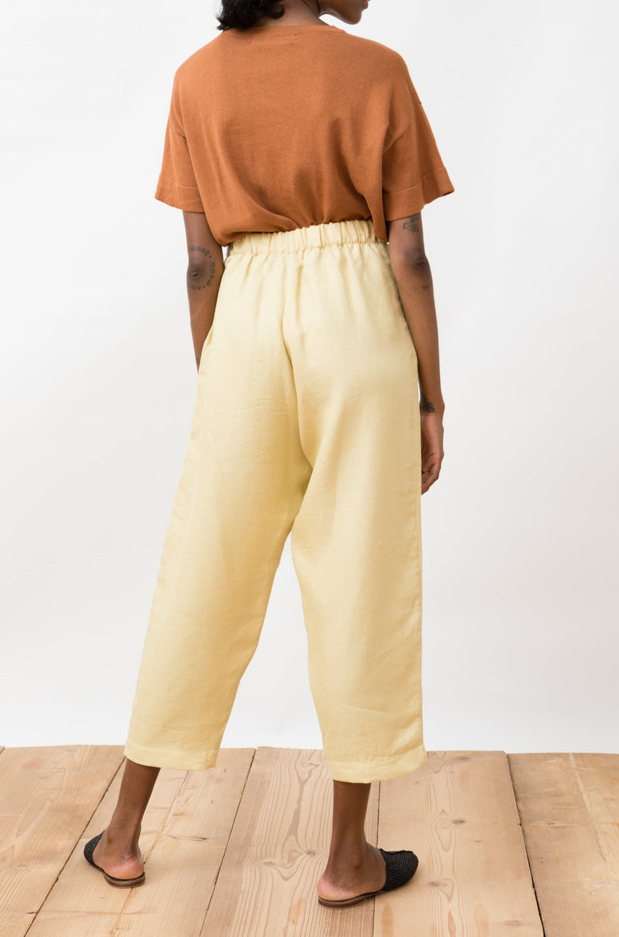 Linen Trousers Viento Straw