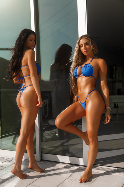 Monday Blues Micro Bikini Set