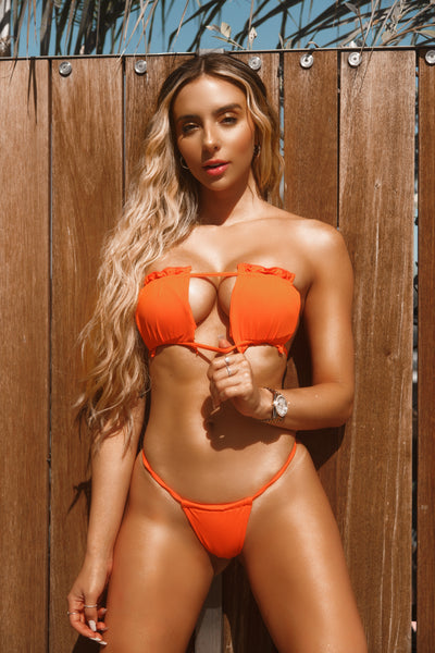 Orange You Glad Micro Bikini Set