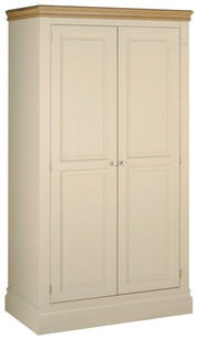 Lundy Painted Hanging Wardrobe with 2 Doors