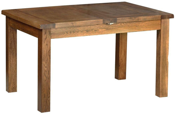 Rustic Oak 4ft 6ins Extending Table