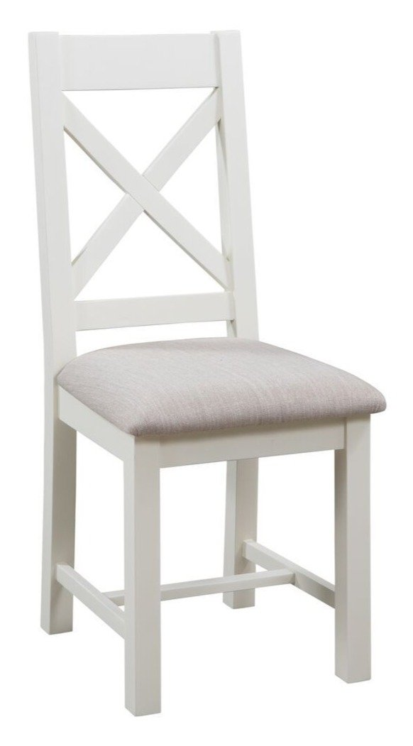 Dorset Painted Oak Cross Back Chair