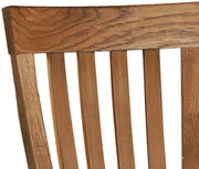 Rustic Oak Toulouse Dining Chair