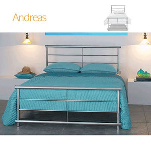 Andreas Bedstead and Headboard