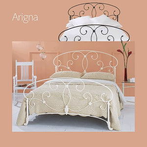 Arigna Bedstead and Headboard