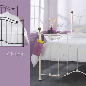 Clarina Bedstead and Headboard
