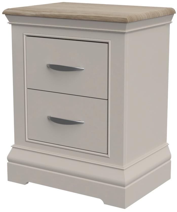 Cobble 2 Drawer Bedside Table