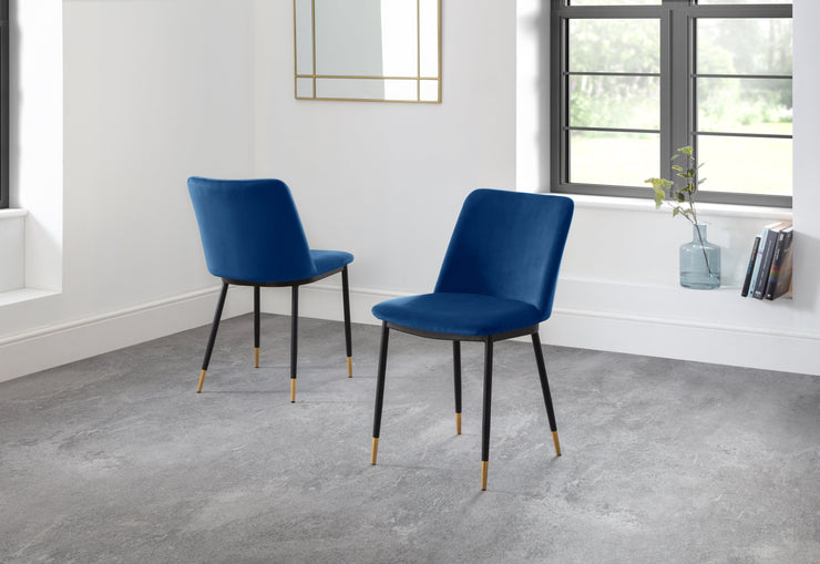 Delaunay Dining Chair - Blue