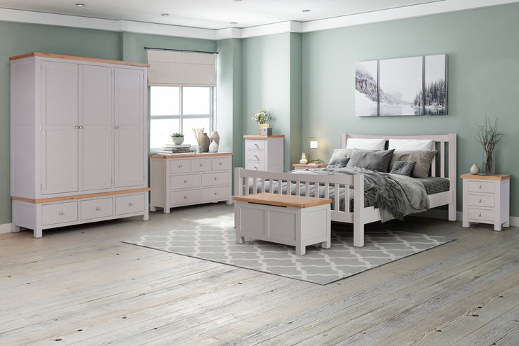 Dorset Putty Painted Bed Frame