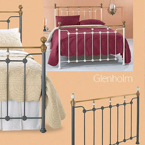 Glenholm Bedstead and Headboard
