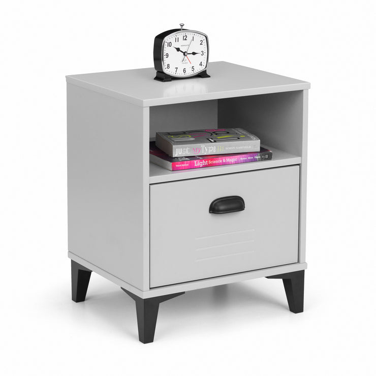 Lakers Locker 1 Drawer Bedside Table