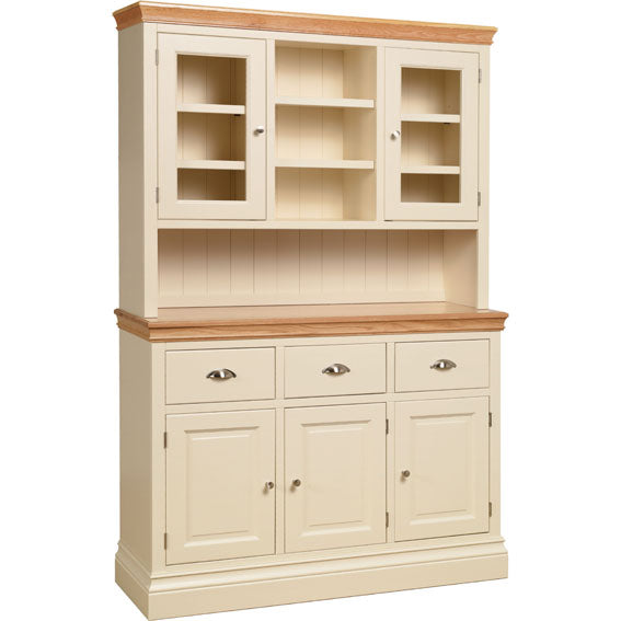 Lundy Pine Painted Large Open Top Dresser (Top Section Only)
