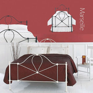 Marseille Bedstead and Headboard