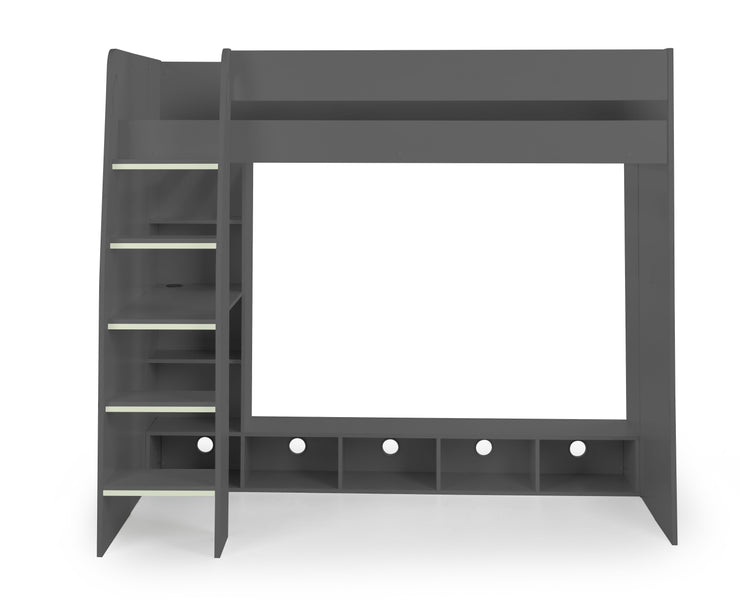 Nebula Gaming Bed with Desk - Anthracite