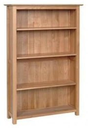 New Oak 5ft Bookcase