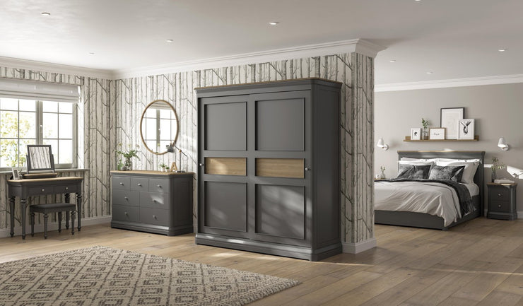 Pebble Gents Chest Wardrobe