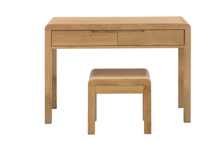 Curve 2 Drawer Dressing Table & Stool