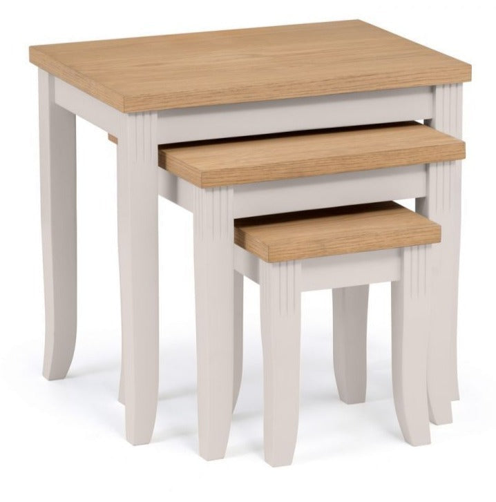 Davenport Nest of Tables - Elephant Grey