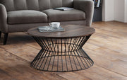 Jersey Round Wire Coffee Table - Various Colours