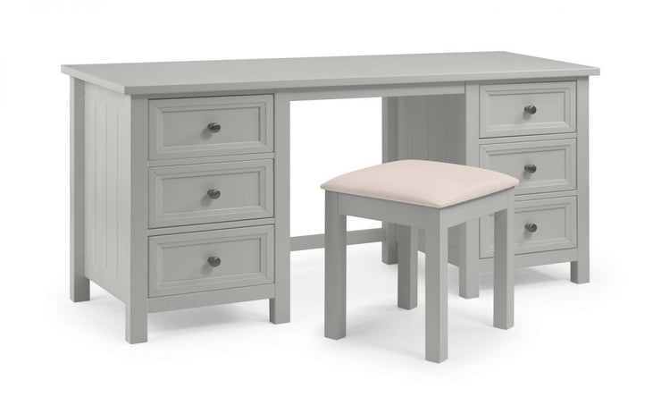 Maine Dressing Stool - Dove Grey