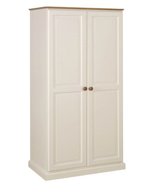Torridge Painted Pine Hanging Wardrobe with 2 Doors