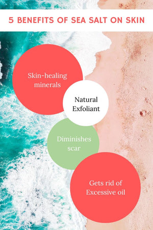Benefits of Sea Salt on Face, Body, Hair
