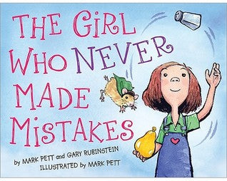 The Girl Who Never Made Mistakes - Mark Pett (Used)