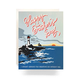 Lighthouse Father's Day Card - Antiquaria