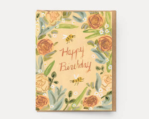 Birthday Wreath Card - Ingrid Press