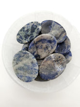 Load image into Gallery viewer, Sodalite Worry Stone